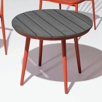Chmura Side Table Base Finish: Orange