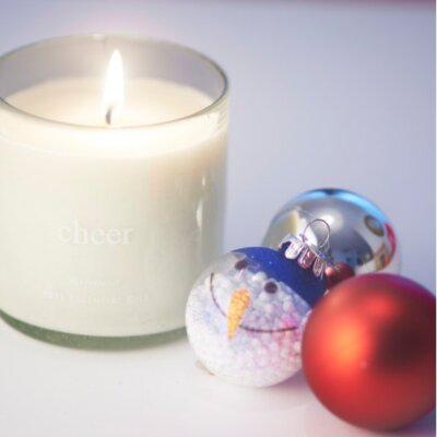 The Pure Candle Holiday Cheer Scented Candle HOLIDAYCHEER1