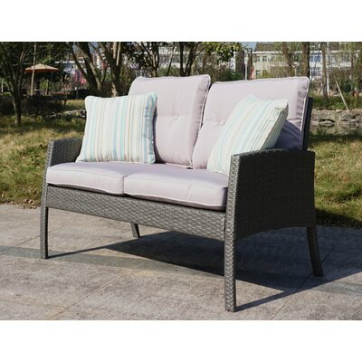 Pearl Street 2 Piece Deep Seating Group with Cushions