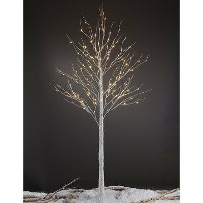 LED Pre-Lit 132 Light Birch Tree