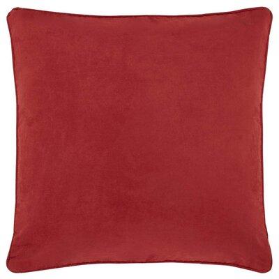 Farrow Throw Pillow Color: Red