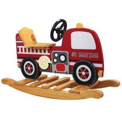Trains and Trucks Fire Engine Rocker TD-0042A