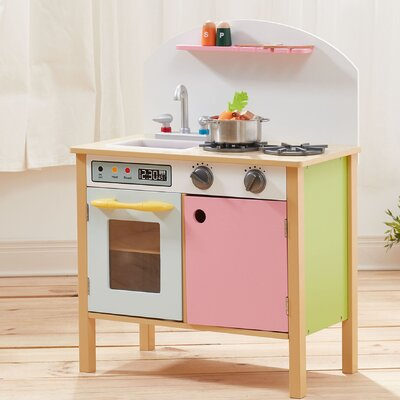 Pretend Play Pink Kitchen TD-11415A