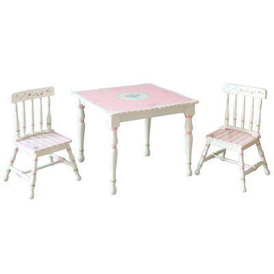 Bouquet Kids' 3 Piece Table and Chair Set