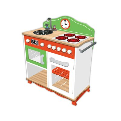 Teamson Kids My Little Chef Play Kitchen with Electric Stove Top at Sears.com