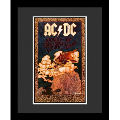 'ACDC' Framed Vintage Advertisement