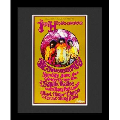 'Jimi Hendrix' Framed Vintage Advertisement