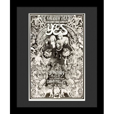 'Yes' Framed Vintage Advertisement