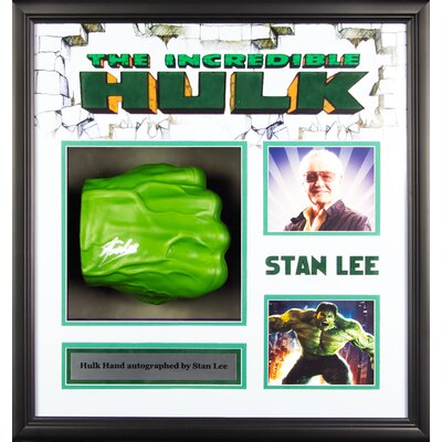 The Incredible Hulk Power Fist Autographed by Stan Lee LWMV1-00042