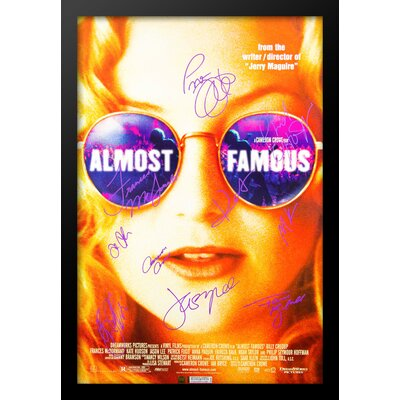 "Almost Famous"" Autographed Movie Poster LW-122955"