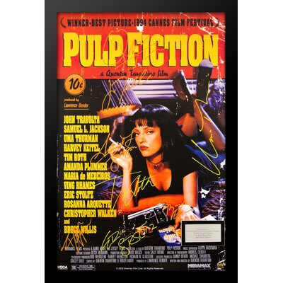 'Pulp Fiction' Framed Graphic Art Print PULP-(8)-36