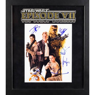 Star Wars - The Force Awakens Autographed Artist Series Photograph LWMV1-00180