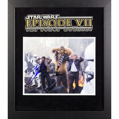 Star Wars - The Force Awakens Autographed Artist Series Photograph LWMV1-00182