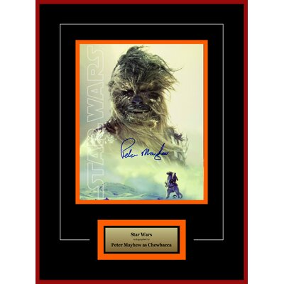 Star Wars - Peter Mayhew as Chewbacca Autographed Artist Series Photograph LWMV2-00002