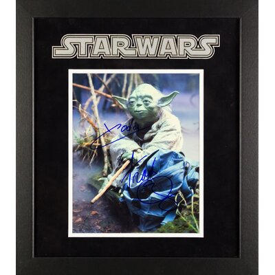 Star Wars - Yoda Signed by Frank Oz Movie Photo LWMV2-00015