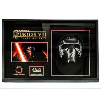 "?Star Wars - The Force Awakens"" Autographed Mask KYLOREN-STRWRZ"