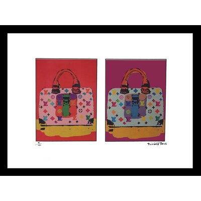 'The Pastels' Framed Graphic Art Print Size: 12