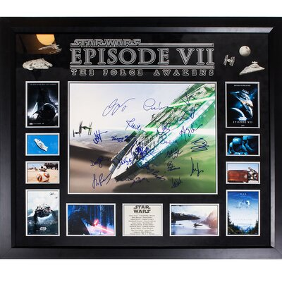 ?Star Wars: Episode VII The Force Awakens? Autographed Photograph Collage StarWars3816