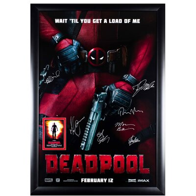 """Deadpool"""" Autographed Movie Poster LW-133686"""
