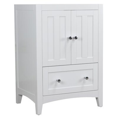 Shaker 22.75 Single Bathroom Vanity Base Base Finish: White