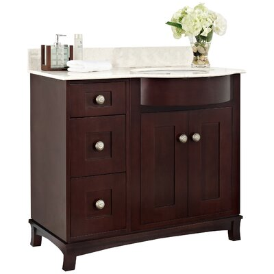 Tiffany 36.25 Single Bathroom Vanity Base