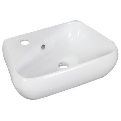 """17.5"""" Wall Mount Bathroom Sink JB-1767"""