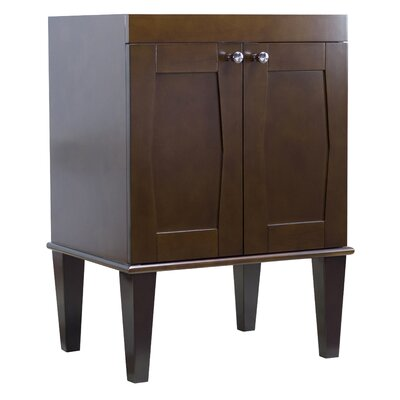 Harrop Floor Mount 48 Double Bathroom Vanity Set