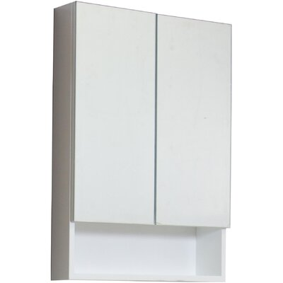 Maryalice Modern 23.5 W x 31 H Surface Mount Medicine Cabinet