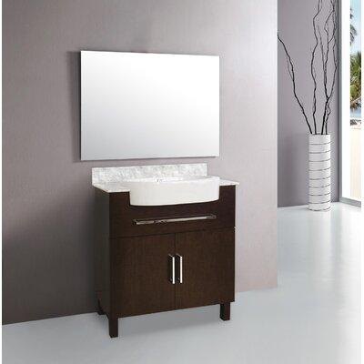 Bronstein Floor Mount 33 Single Bathroom Vanity Set