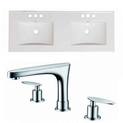 Xena 48 Double Bathroom Vanity Top