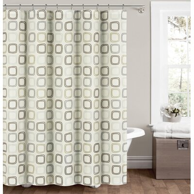 Jorgensen Shower Curtain Color: Neutral