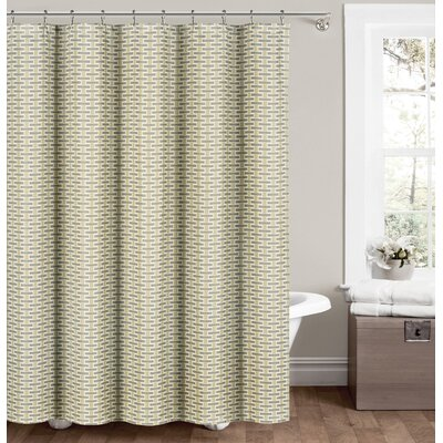 Gary Shower Curtain Color: Neutral