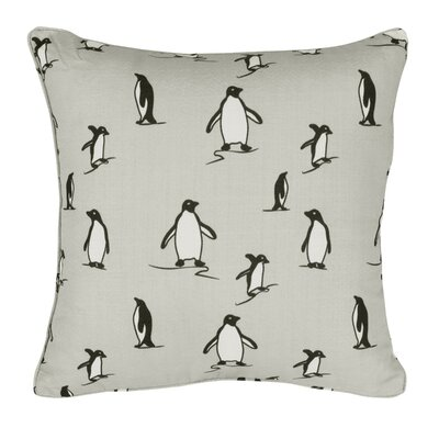 Meera Penguin Throw Pillow