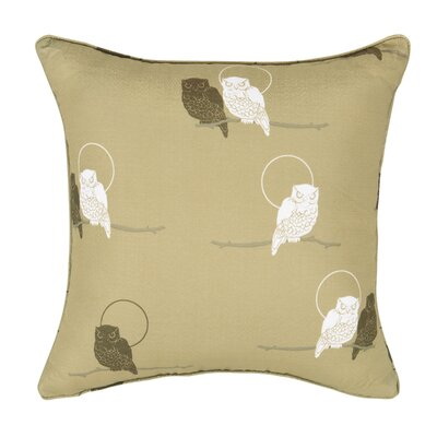 Priya Night Owl Throw Pillow