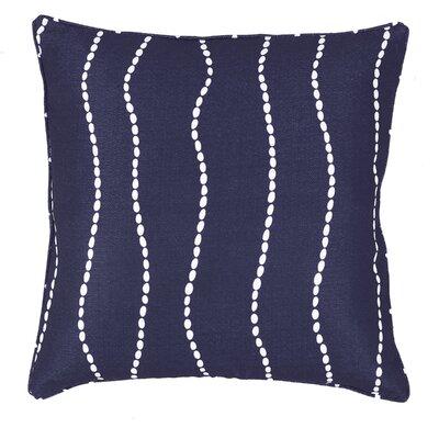 Meera Throw Pillow Color: Navy