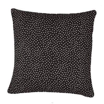 Mei Throw Pillow Color: Chocolate