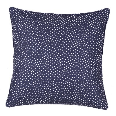 Mei Throw Pillow Color: Navy