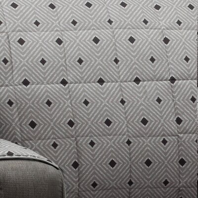 Ron Chereskin Diamond Stripe Microfiber/Polyester Recliner Slipcovers
