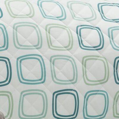 Ron Chereskin Geo-basketweave Microfiber/Polyester Loveseat Slipcover Upholstery: Seafoam