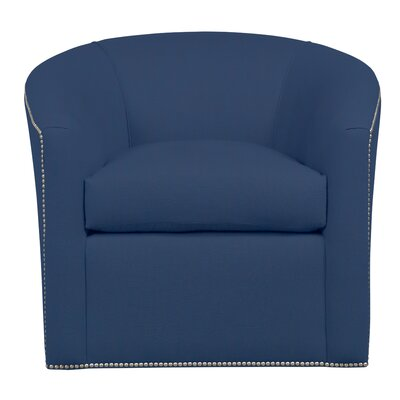 Harper Barrel Chair Upholstery: August Navy