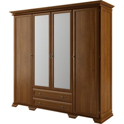 Delilah 4 Doors Wardrobe Armoire