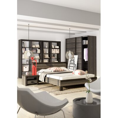 Dolloff Queen Platform Configurable Bedroom Set