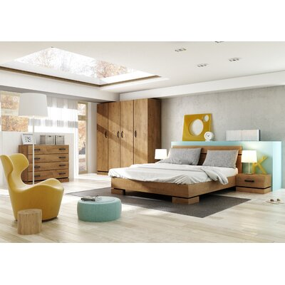 Stimson Queen Platform Bed with Mattress