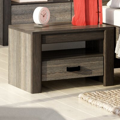 Brianna 1 Drawer Nightstand