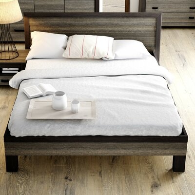 Dolloff Queen Platform Bed with Mattress