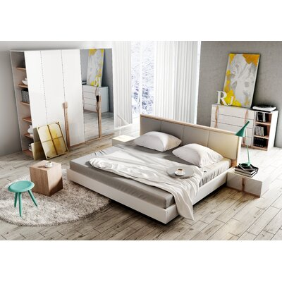 Alice Queen Platform Configurable Bedroom Set