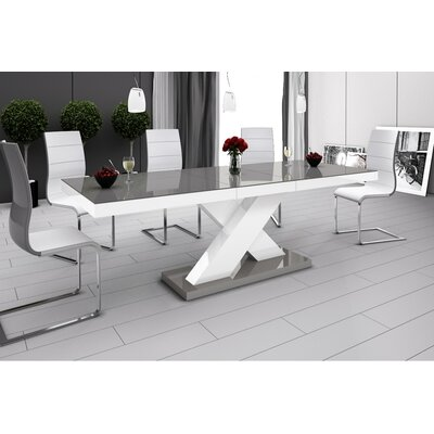 Collingswood Dining Table Finish: Gray/White