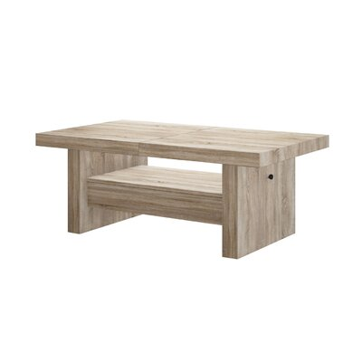 Celine Lift Top Coffee Table Color: Sonoma Oak