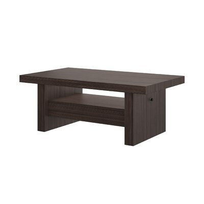 Celine Coffee Table with Lift Top Finish: Wenge