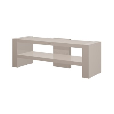 Dionte 54.3 TV Stand Color: Cappuccino